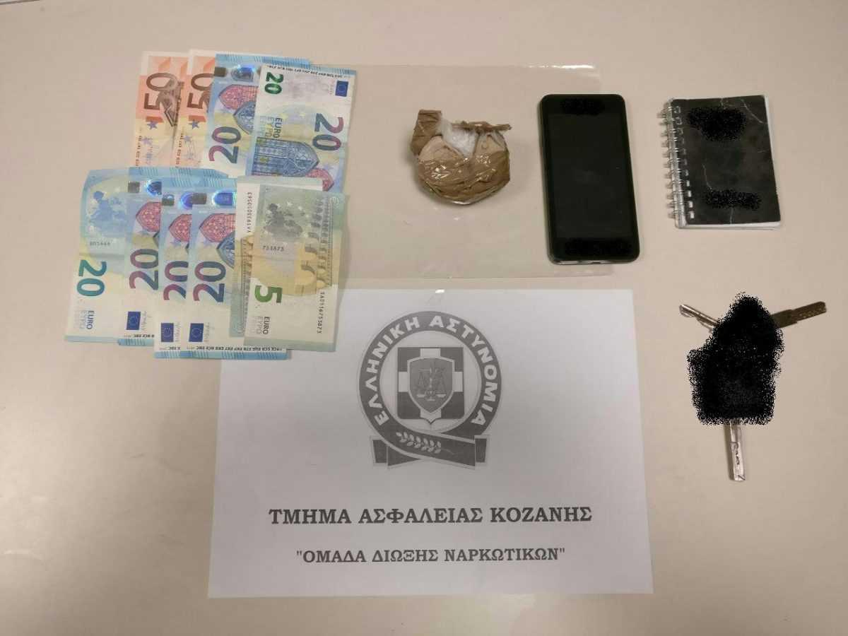 Σύλληψη 42χρονου  ημεδαπού στην Κοζάνη για διακίνηση ηρωίνης