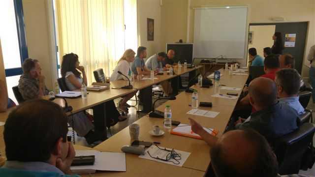 Ολοκληρωθηκε με επιτυχια η πρωτη συναντηση του δικτου εμπλεκομενων μερων του εργου innotrans στην κοζανη
