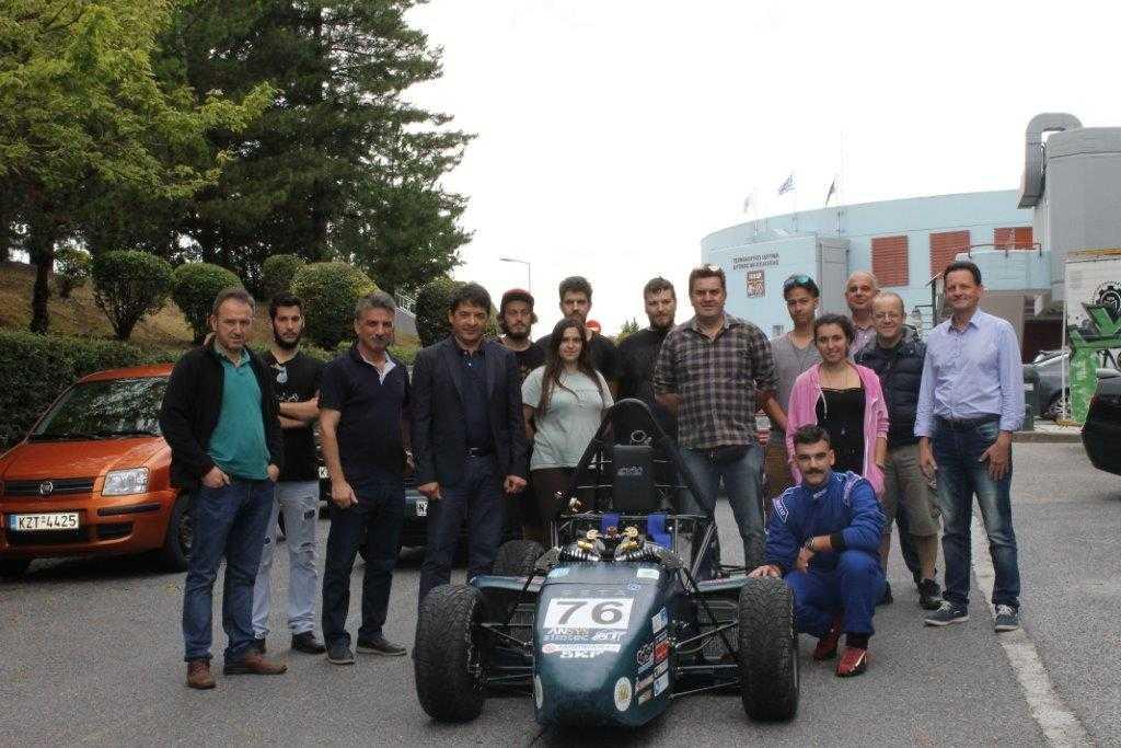 Η « TEIWM Racing» από το ΤΕΙ Δυτικής Μακεδονίας  συμμετέχει στον διεθνή αγώνα μονοθέσιων τύπου «Formula Student (FSAE)»