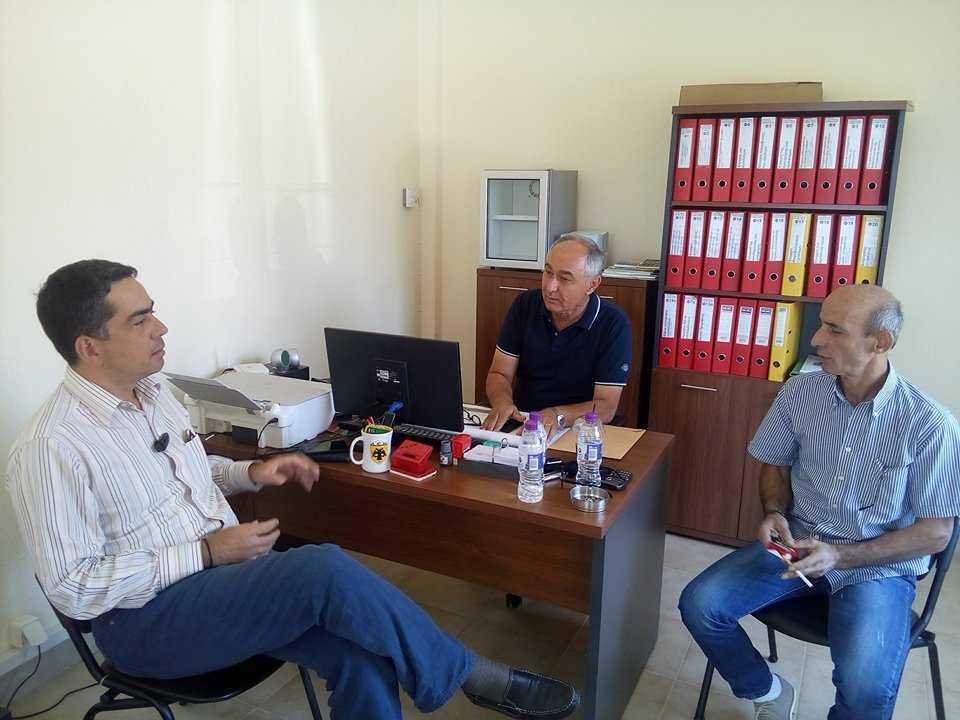Επίσκεψη στο τυροκομείο του Αγροτικού και Κτηνοτροφικού Συνεταιρισμού