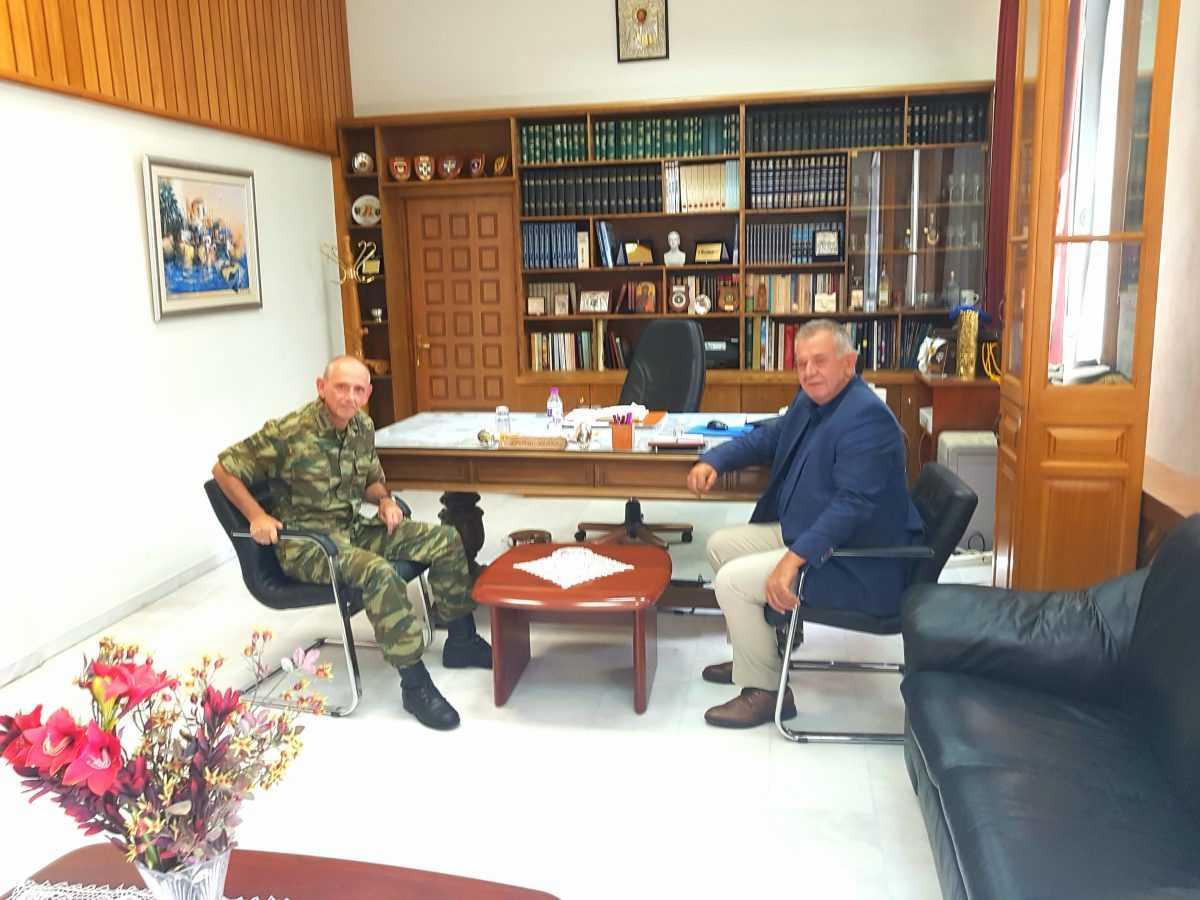 Επίσκεψη του Βουλευτή ΣΥΡΙΖΑ Κοζάνης Γεώργιου Ντζιμάνη στο Στρατόπεδο Μακεδονομάχων
