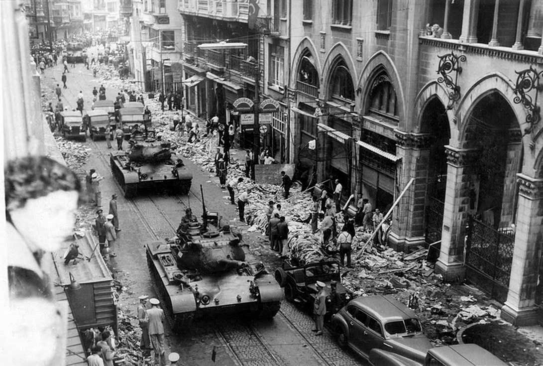 6-7 Σεπτεμβρίου 1955  Κωνσταντινούπολη