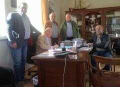 Υπογραφή σύμβασης  στο δήμο Βοϊου για την εκτέλεση του έργου «ΒΕΛΤΙΩΣΗ ΟΔΟΥ ΜΕ ΤΣΙΜΕΝΤΟΣΤΡΩΣΗ ΑΠΟ ΕΠΑΡΧΙΑΚΗ ΟΔΟ ΕΩΣ ΛΟΦΟ ΚΑΠΙΤΣΙΝΗ»