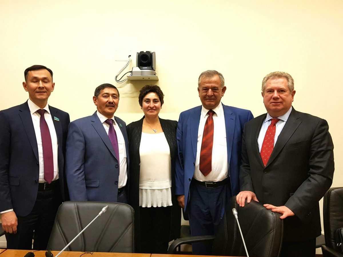 Συνάντηση του Βουλευτή ΣΥΡΙΖΑ Κοζάνης κ. Ντζιμάνη με αντιπροσωπία της Ομάδας Φιλίας Καζακστάν – Ελλάδας