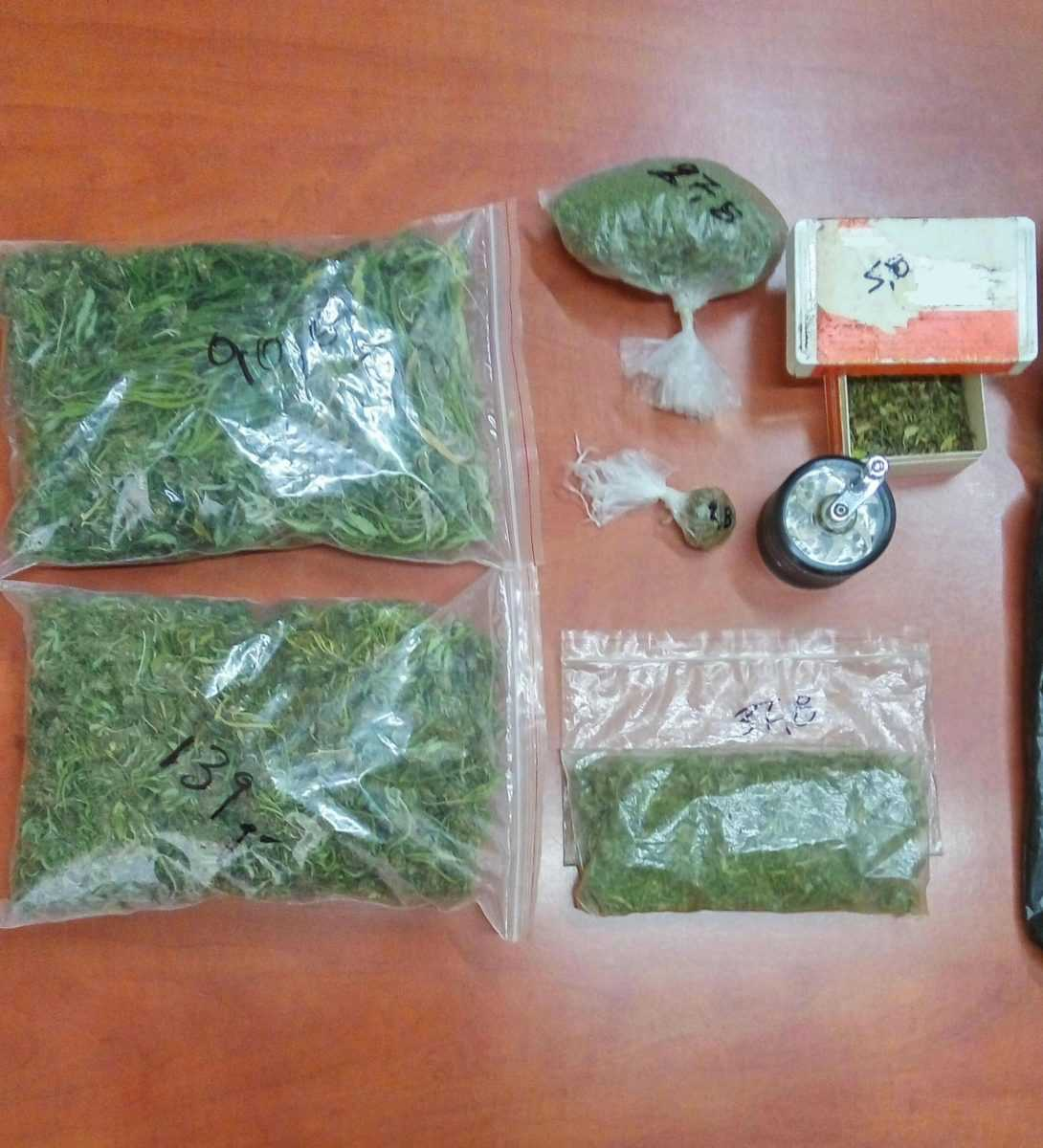Συνελήφθησαν -2- ημεδαποί σε περιοχή της Κοζάνης για καλλιέργεια και κατοχή ναρκωτικών  Κατασχέθηκαν -480,8- γραμμάρια κάνναβης και -4- δενδρύλλια κάνναβης