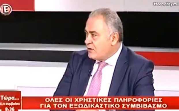 Πρόεδρος ΕΕΑ:Το 50% των επιχειρήσεων αποκλείονται από τον Εξωδικαστικό