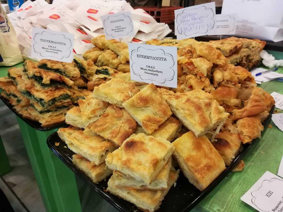 Γιορτή πίτας στο Εκθεσιακό Κέντρο Κοζάνης- Οι ζωντανές καραβίδες Πολυφύτου ενθουσίασαν το κοινό