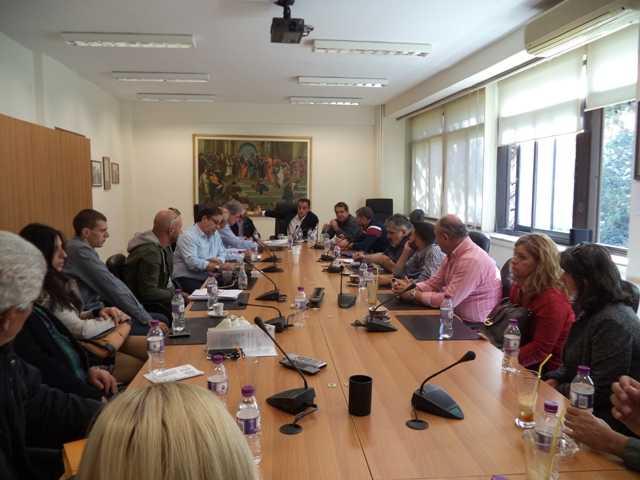 Την Δευτέρα 16 Οκτωβρίου στην αίθουσα συσκέψεων της Π.Ε. Κοζάνης, συνεδρίασε για 3η φορά η Επιτροπή Συντονισμού για την Ανάπτυξη της Λίμνης Πολυφύτου.