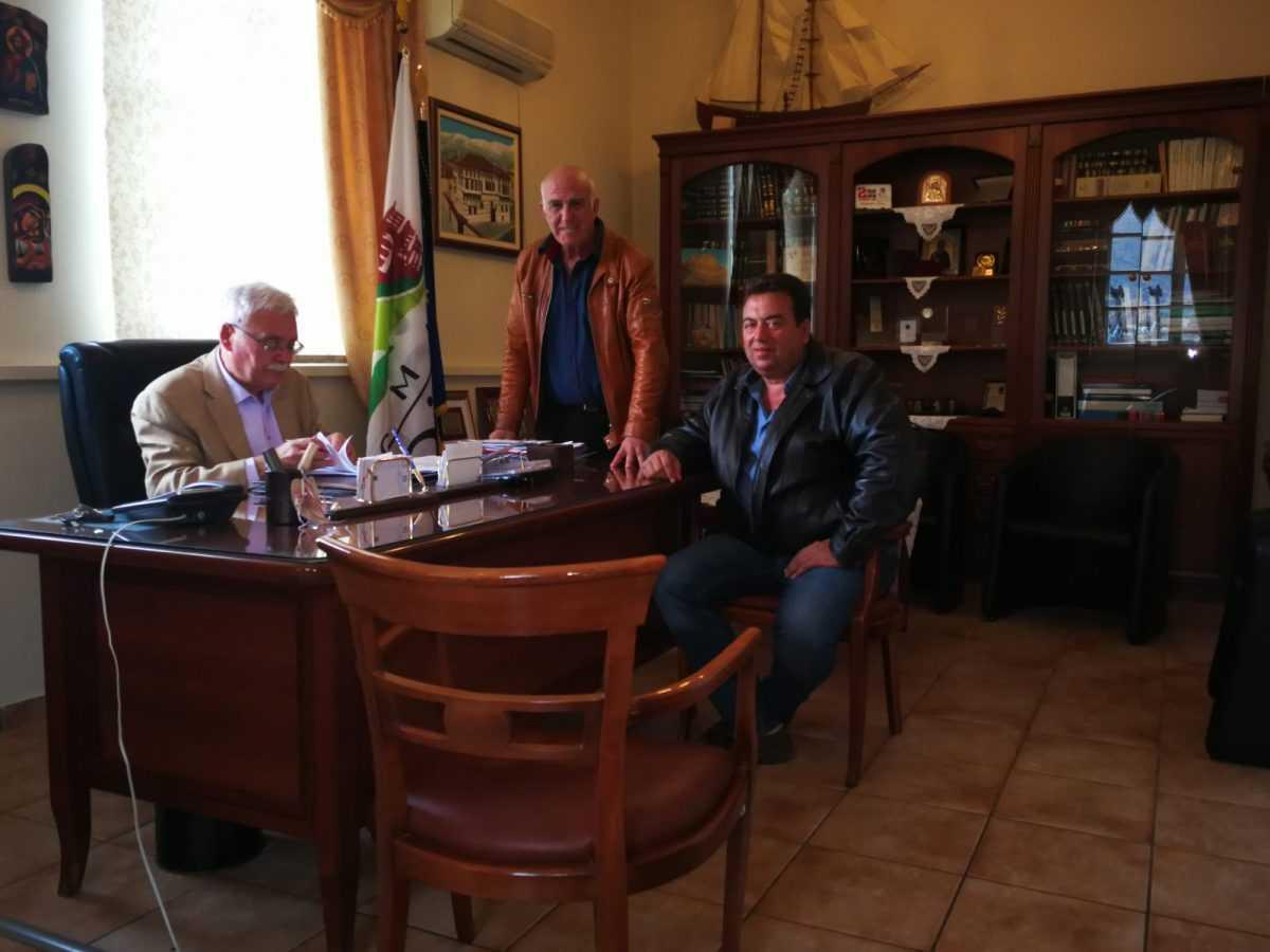 Υπογραφή σύμβασης για την εκτέλεση του έργου «Σύνδεση με το νέο δίκτυο ύδρευσης στις περιοχές ΜΠΟΥΝΟΣ, ΑΗ- ΓΙΑΝΝΗ, ΔΟΥΚΑ, ΑΓΙΟΥ ΓΕΩΡΓΙΟΥ7 και στην κεντρική οδό Σιάτιστας του Δήμου Βοΐου»