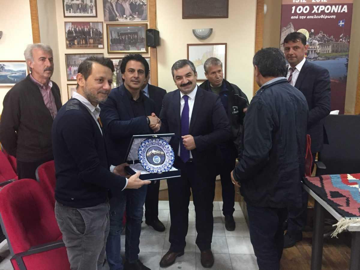 Επίσκεψη τούρκων αυτοδιοικητικών στο Δήμο Σερβίων - Βελβεντού