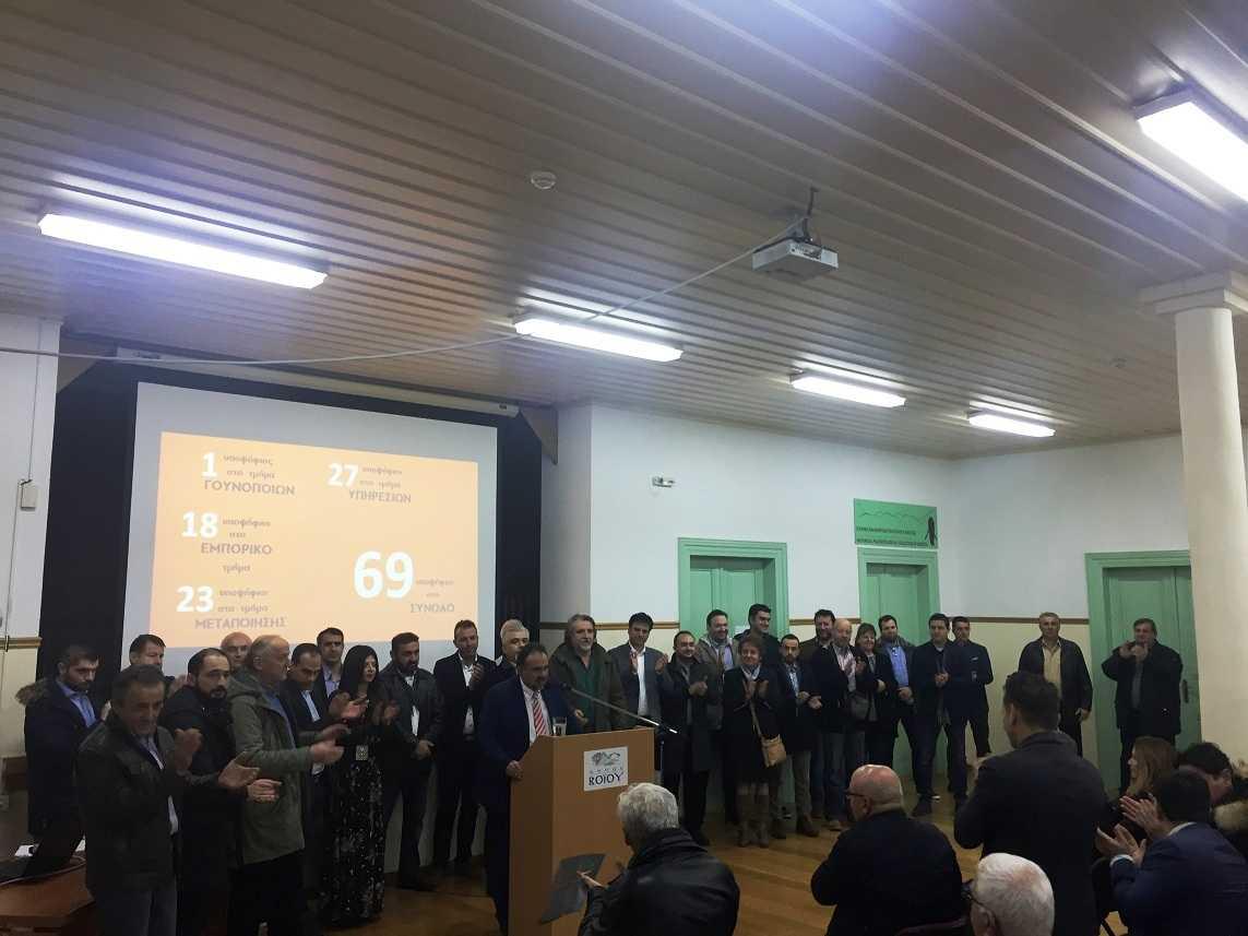 Σύγχρονο Επιμελητήριο Νίκος Σαρρής:  Η παρουσίαση υποψηφίων και προγράμματος στη Σιάτιστα