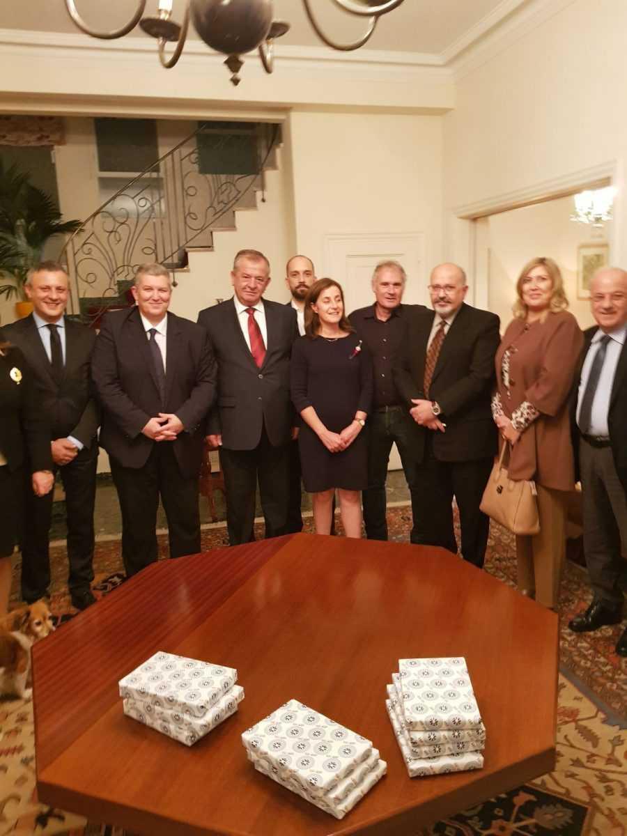 Συνάντηση του βουλευτής ΣΥΡΙΖΑ Κοζάνης Ντζιμάνη Γεώργιου, μέλος της Διαρκούς Επιτροπής Εθνικής Άμυνας και Εξωτερικών Υποθέσεων με την Πρέσβειρα του Ισραήλ