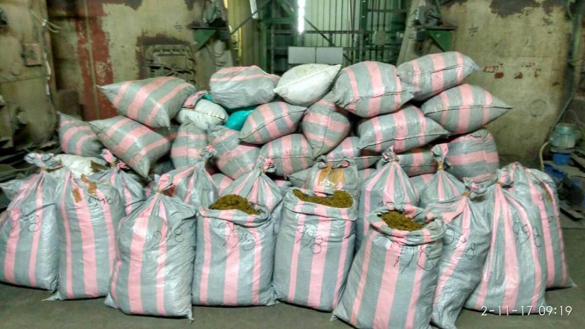 Πάνω από 650 κιλά ακατέργαστης κάνναβης καταστράφηκαν σήμερα σε υψικάμινο στο εργοστάσιο του ΑΗΣ Καρδιάς