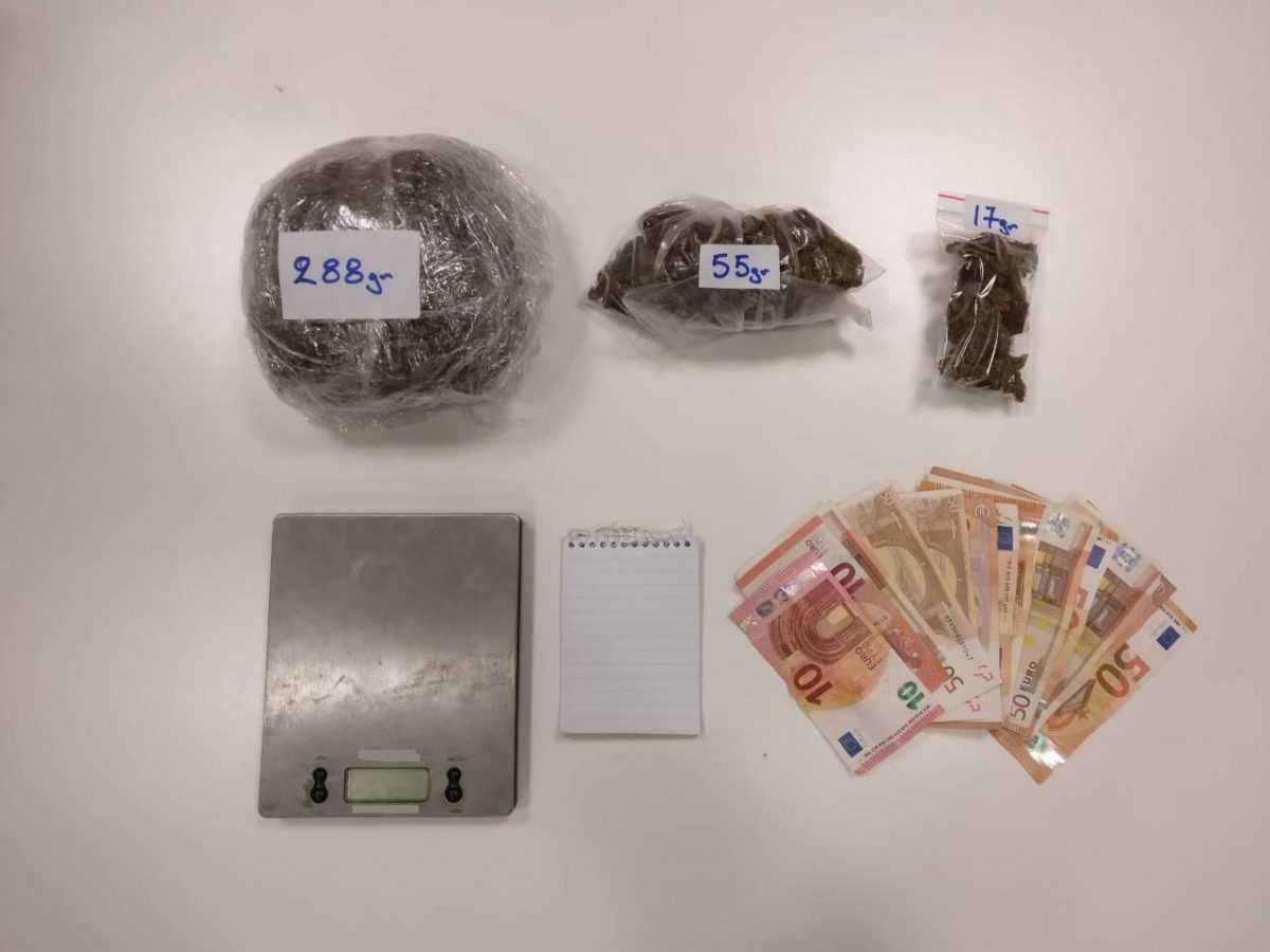 Σύλληψη -2- ημεδαπών στην Κοζάνη για παραβάσεις των νόμων περί ναρκωτικών και όπλων