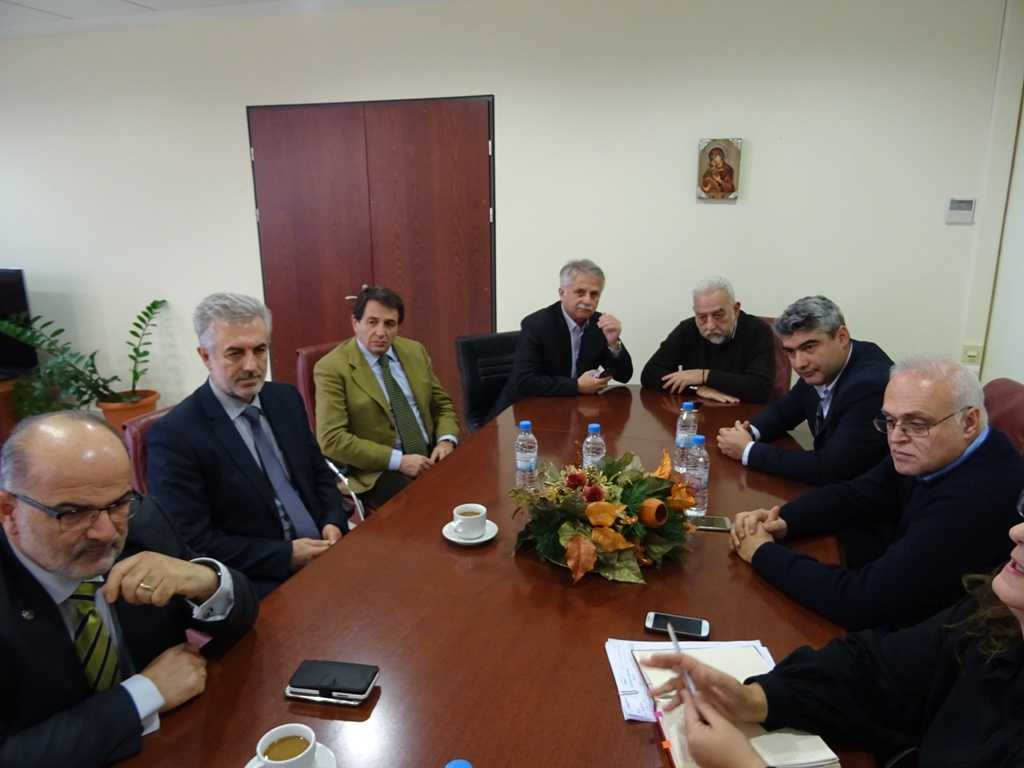 Στο επίκεντρο η στήριξη των μικρομεσαίων επιχειρήσεων  της Δυτικής Μακεδονίας. Συνάντηση Περιφερειάρχη με ΙΜΕ ΓΣΕΒΕΕ