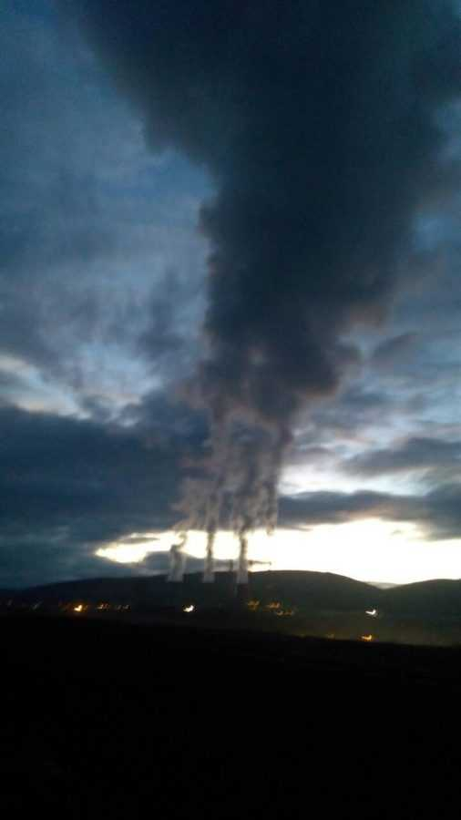 Κόλαση του Δάντη με σκηνικό το σεληνιακό τοπίο στα ορυχεία της ΔΕΗ - ΑΗΣ Καρδιάς. Εδώ που ζούμε και αναπνέουμε, δεν μας θυμίζει τίποτα από το ηλιοβασίλεμα της Φύσης!!!