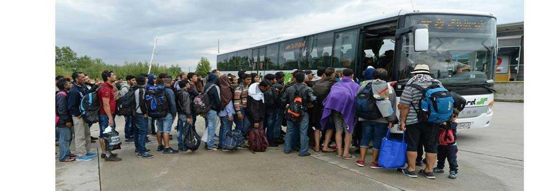 156 πρόσφυγες Συριακής, Ιρανικής, Αφγανικής και Παλαιστινιακής καταγωγής κατέκλυσαν τα Γρεβενά εν αγνοία των τοπικών αρχών