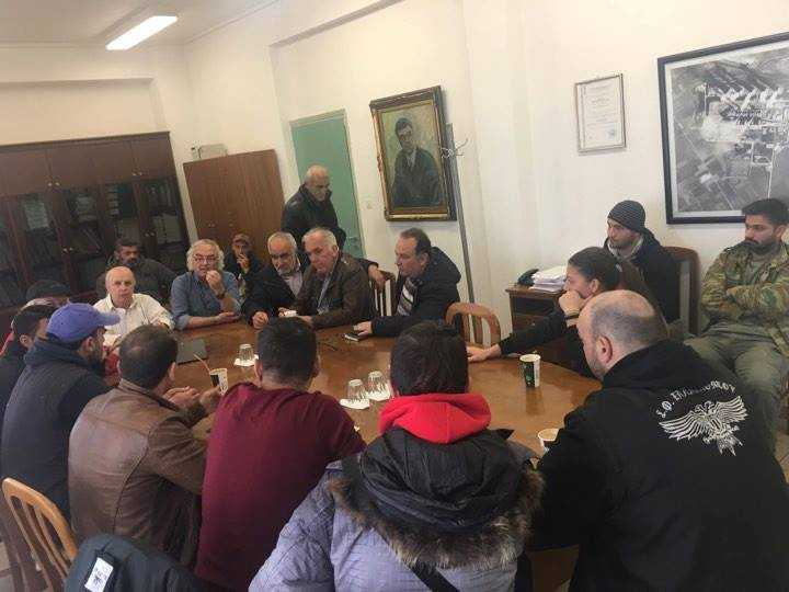 Την Τρίτη 21 Νοεμβρίου πραγματοποιήθηκε η 3 συνάντηση μεταξύ του Διευθυντή του ΑΗΣ Αγίου Δημητρίου, του Τοπικού Συμβουλίου Νέων Ελλησπόντου και των προέδρων των κοινοτήτων Αγίου Δημητρίου και Ρυακίου