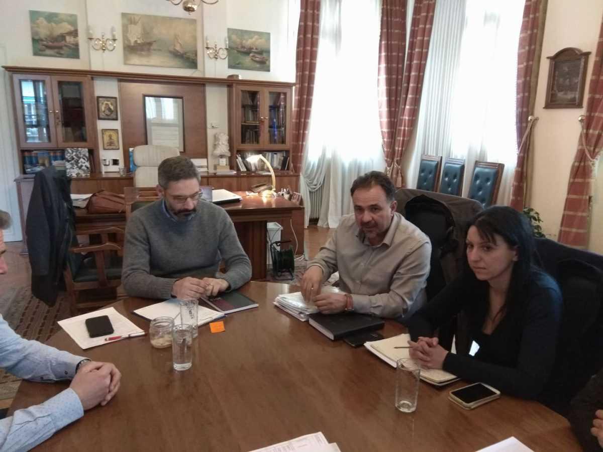 Συνάντηση με το νέο Πρόεδρο του ΕΒΕ Ν. Κοζάνης Νικόλαο Σαρρή είχε ο Δήμαρχος Κοζάνης Λευτέρης Ιωαννίδης