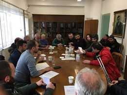 Πρώτη Συνάντηση του Σ.Υ.Ν. Ελλησπόντου Κοζάνης με τον Διευθυντή Β. Τσίγκα του ΑΗΣ Αγίου Δημητρίου