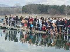Καθαγιασμός υδάτων στη λίμνη Πολυφύτου