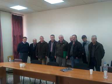 H Συντονιστική Επιτροπή Αγώνα του Σ.Ε.Α Νομού Κοζάνης συναντήθηκε και συζήτησε με τον επικεφαλής της μείζονος αντιπολίτευσης Μαλούτα Λάζαρο θέματα που απασχολούν όλα τα σωματεία