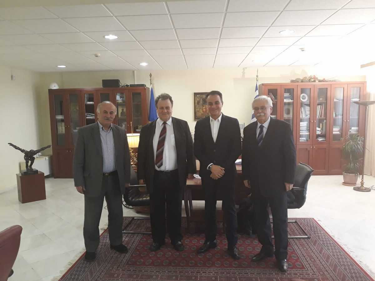 Συνάντηση Δημάρχου Βοΐου με τον Περιφερειάρχη Δυτικής Μακεδονίας για το φυσικό αέριο