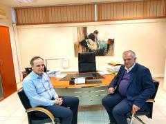 Συνάντηση βουλευτή Κοζάνης Γ. Ντζιμάνη με τους Πρυτάνεις ΑΕΙ και ΤΕΙ της Δυτικής Μακεδονίας