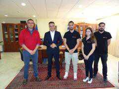 Επίσκεψη της ομάδας Tyφoon MotoRacing του Πανεπιστημίου, στον Περιφερειάρχη Δυτικής Μακεδονίας