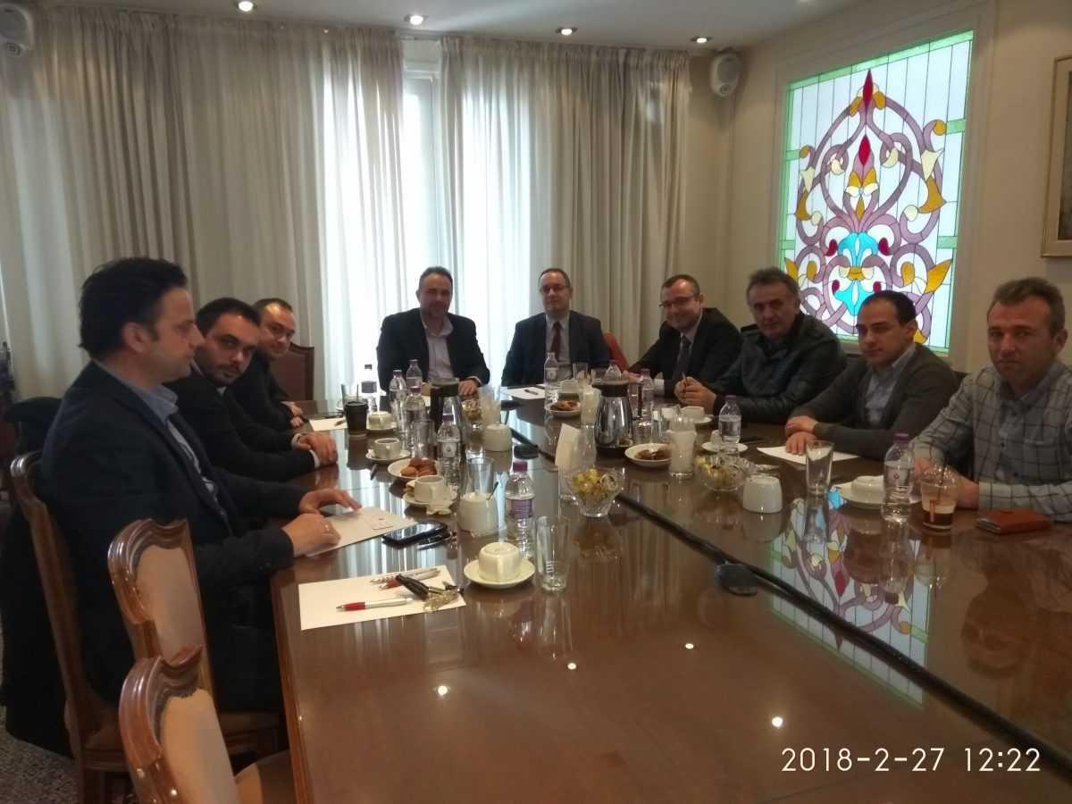 Επίσκεψη στο Επιμελητήριο Κοζάνης του Εμπορικού Ακόλουθου του Γενικού Προξενείου της Τουρκίας στη Θεσσαλονίκη