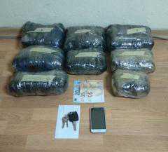 Συνελήφθη 25χρονος αλλοδαπός για διακίνηση ακατέργαστης κάνναβης, βάρους -5- κιλών και -287- γραμμαρίων, σε περιοχή της Καστοριάς