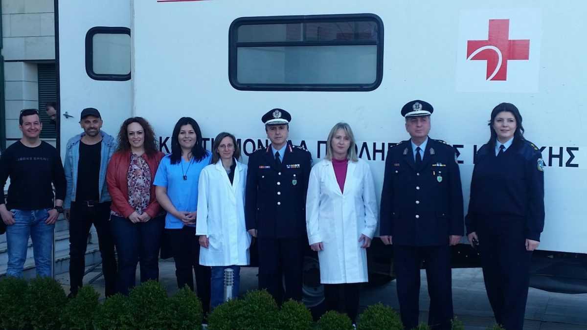 Με μεγάλη επιτυχία πραγματοποιήθηκε η εθελοντική αιμοδοσία που οργανώθηκε από την Τοπική Διοίκηση Κοζάνης της Διεθνούς Ένωσης Αστυνομικών