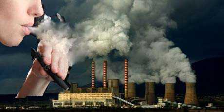 Αποφεύγουμε το κλειστό καπνισμένο περιβάλλον… μα δεν γλυτώνουμε το απέραντο και μολυσμένο ατμοσφαιρικό περιβάλλον!