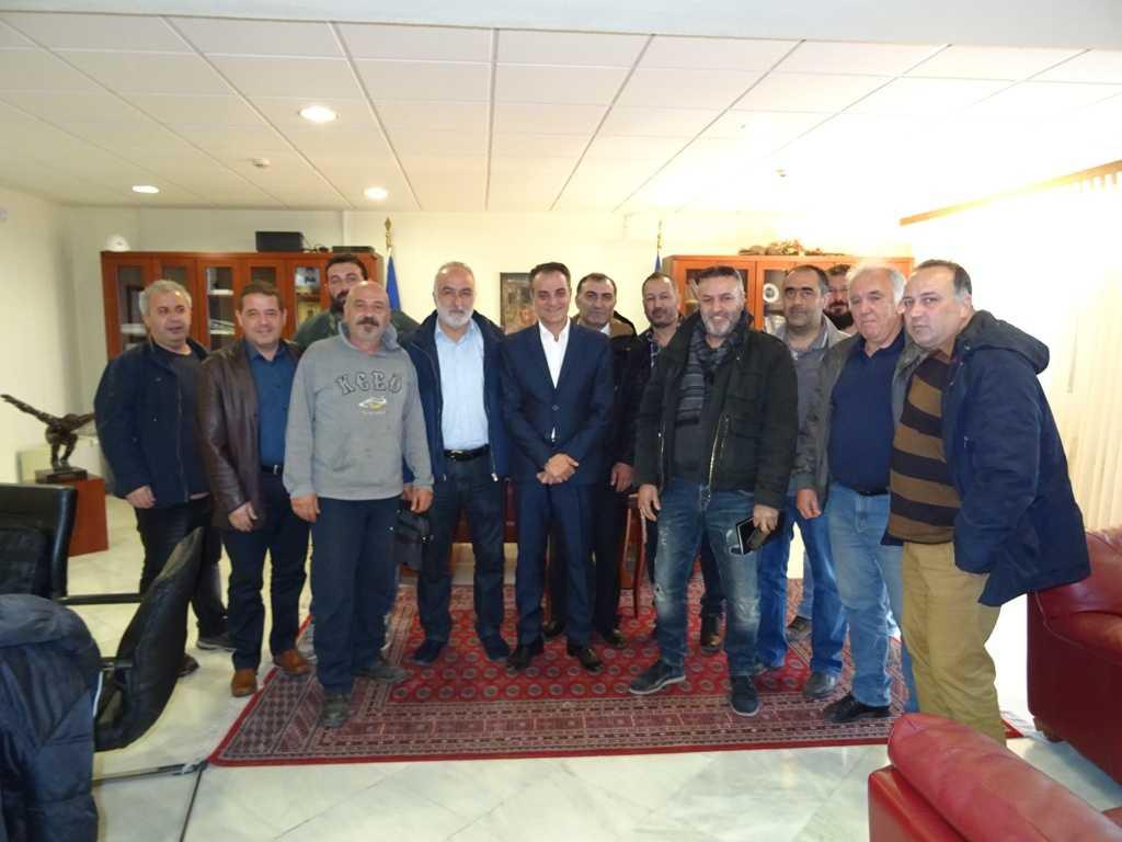 Σύσκεψη στην Περιφέρεια με τους Προέδρους  των Κοινοτήτων Ελλησπόντου και Δημητρίου Υψηλάντη