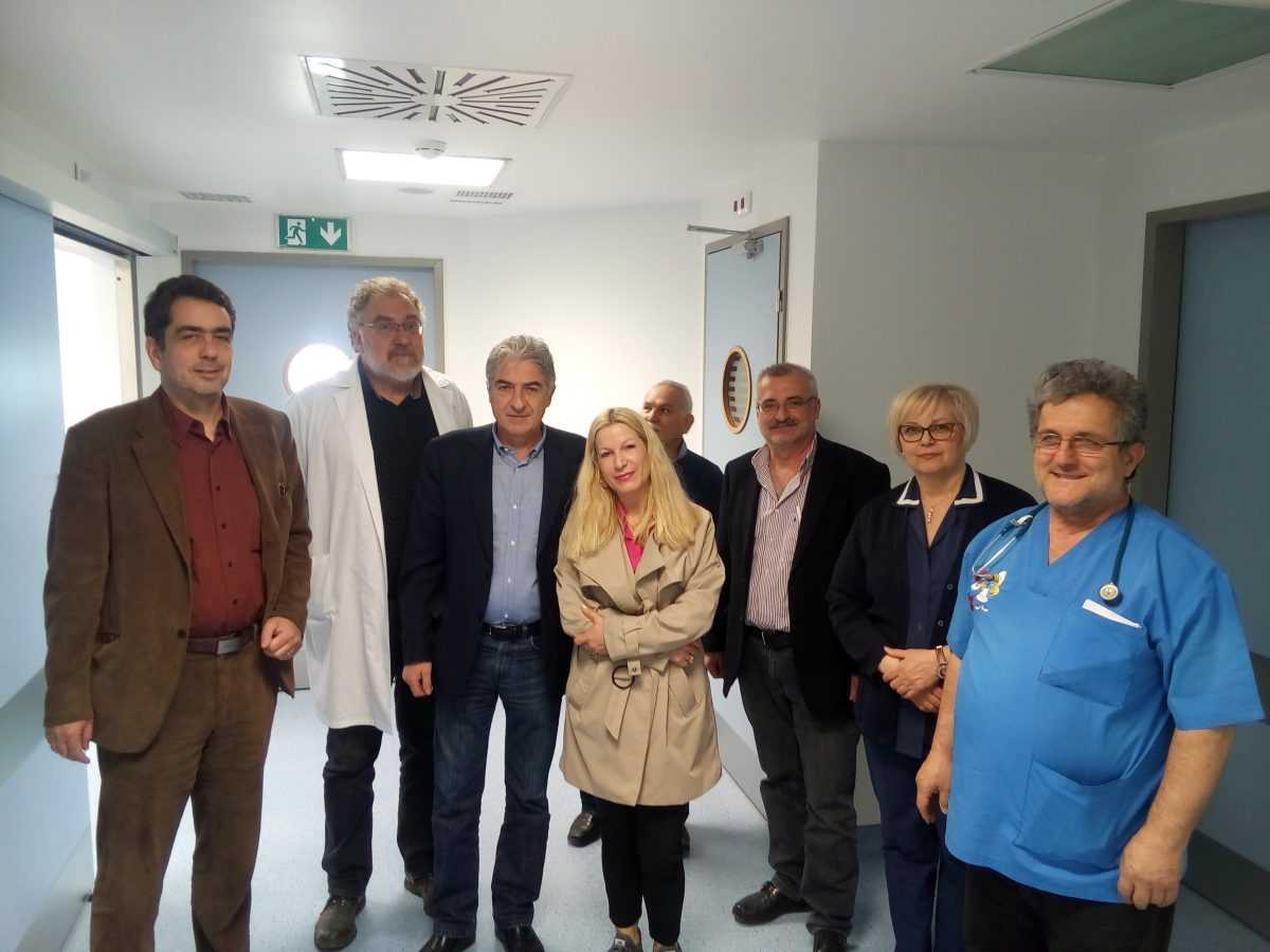 Επίσκεψη Βουλευτή Ν. Κοζάνης (ΣΥ.ΡΙΖ.Α.), Γιάννη Θεοφύλακτου στο Μποδοσάκειο Νοσοκομείο Πτολεμαΐδας.