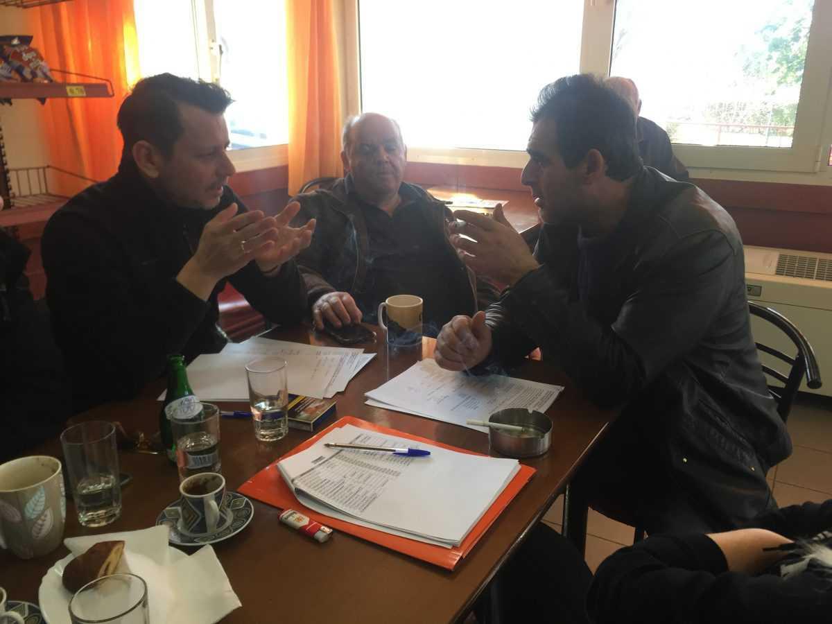 Κτηνοτρόφους της T.K. Γουλών του Δήμου Σερβίων- Βελβεντού επισκέφθηκε ο πρόεδρος της Κοινωφελούς επιχείρησης Ζυγούρης Φώτης