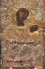 Λιτάνευση Ιεράς Εικόνας Παναγίας Ζιδανιώτισσας.