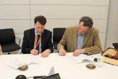 Υπογραφή προγραμματικής σύμβασης της Εθνικής Βιβλιοθήκης Ελλάδος και της Κοβενταρείου Δημοτικής Βιβλιοθήκης Κοζάνης