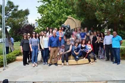 Επίσκεψη Πολιτιστικού & Λαογραφικού Συλλόγου Πρωτοχωρίου στην Ένωση Ποντίων Μαγνησίας!