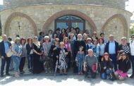 Επίσκεψη και εκκλησιασμός Προσκυνητών από το Κορδελιό Θεσσαλονίκης στην Ιερά Μονή Αγίου Ιωάννου Βαζελώνος