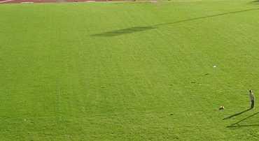 Το γήπεδο ποδοσφαίρου, ο στίβος και τα γήπεδα τένις του ΔΑΚ Κοζάνης, λόγω εργασιών