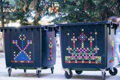 Παιδιά του τμήματοςΕικαστικών Τεχνών Πανεπιστημίου Δυτικής Μακεδονίας κόσμησαν με έργα τους εσωτερικούς και εξωτερικούς χώρους της Κοζάνης