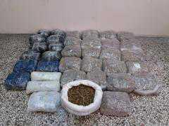 Για διακίνηση 41 κιλών και 570 γρ. κάνναβης σε περιοχή της Κοζάνης, συνελήφθησαν 2 αλλοδαποί