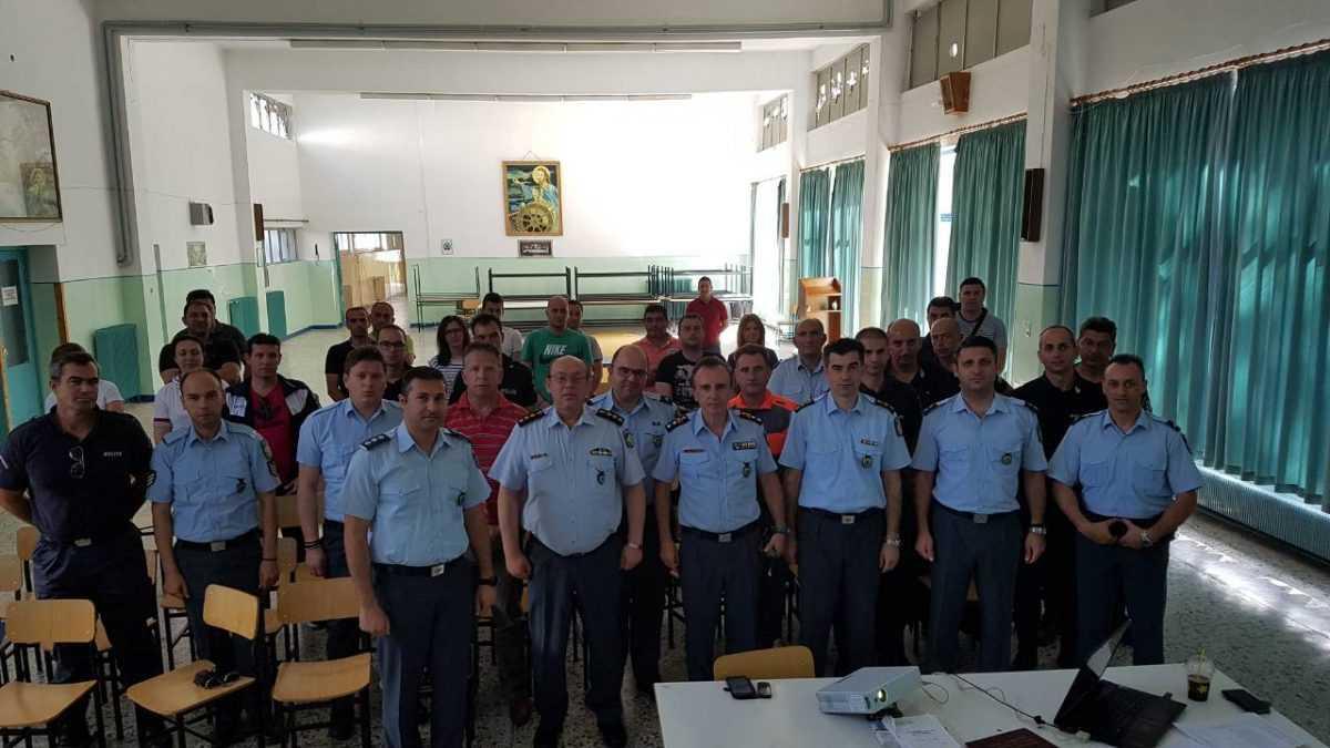 Ολοκληρώθηκε η εκπαίδευση στελεχών της Γενικής Περιφερειακής Αστυνομικής Διεύθυνσης Δυτικής Μακεδονίας σε θέματα ψηφιακών ταχογράφων