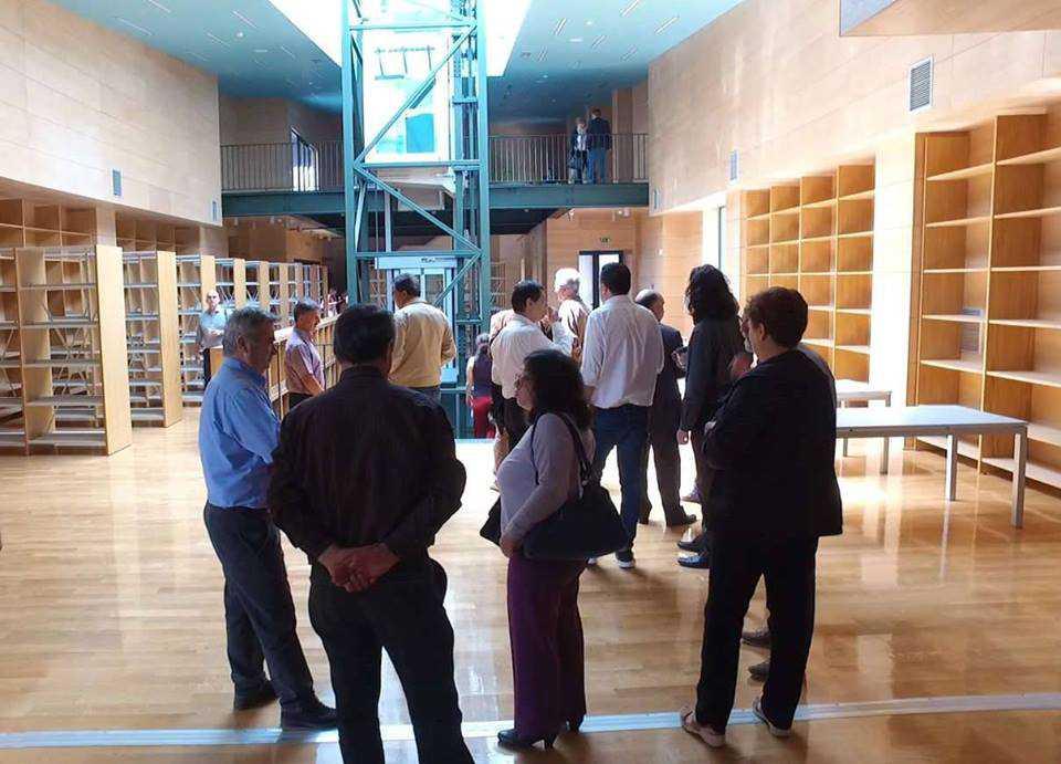 Ξενάγηση στη Βιβλιοθήκη για το Σύλλογο Φίλων Δημοτικής Βιβλιοθήκης Κοζάνης