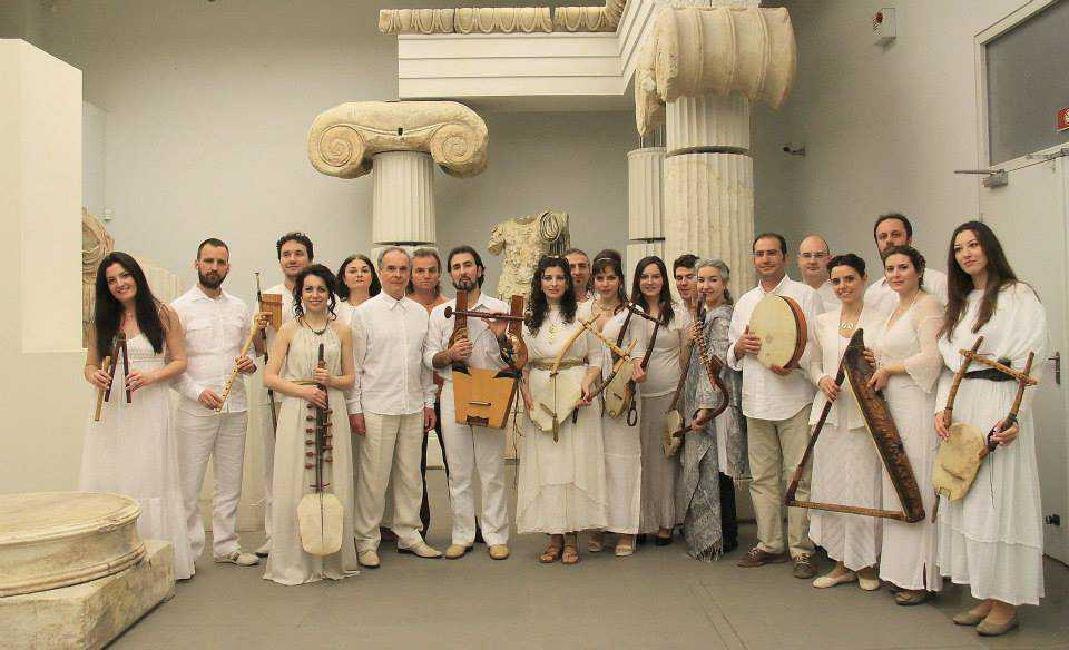 """Μουσική παράσταση Αρχαίας ελληνικής Μουσικής. Η """"Ορφεία Αρμονία"""" στο Αρχαιολογικό Μουσείο Αιανής"""