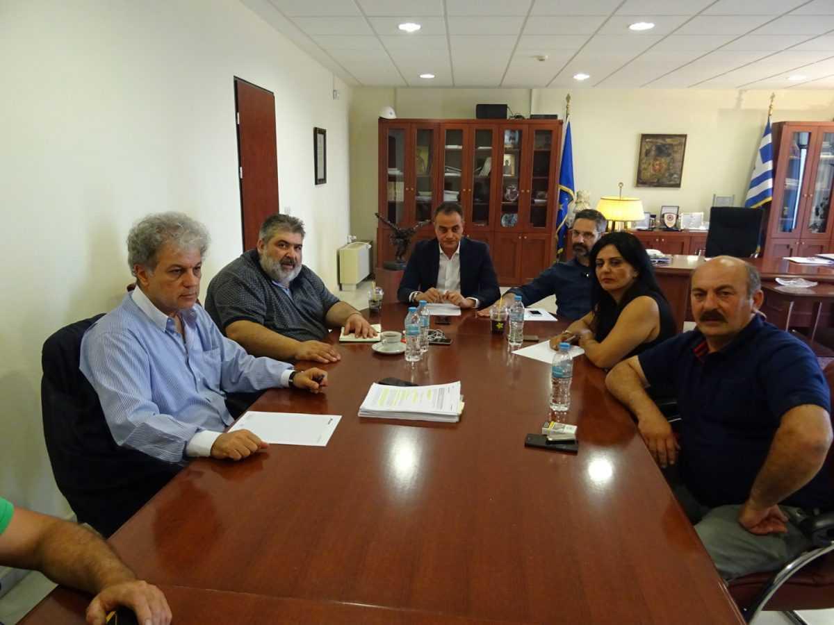Συνάντηση φορέων για τις εξελίξεις και διαφοροποιήσεις σχετικά με τις μετεγκαταστάσεις Ακρινής και Αναργύρων