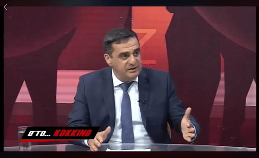Συνέντευξή Γιώργου Τοπαλίδη στην Κατερίνα Μαρκοπούλου στo Flash-tv Κοζάνη, στην οποία αναλύει και σχολιάζει θέματα επικαιρότητας
