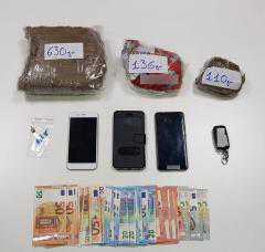 Συνελήφθησαν 5 άτομα για διακίνηση ναρκωτικών ουσιών στην Κοζάνη