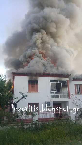 Νεκρή ηλικιωμένη από πυρκαγιά σε μονοκατοικία στο Αμύνταιο